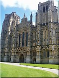 ST5545 : Wells Cathedral [16] by Michael Dibb