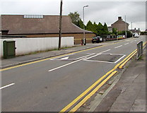 ST3090 : Speed bumps near the SW end of Pillmawr Road, Malpas, Newport by Jaggery