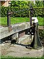 SJ9688 : Lock gear at Marple Locks No 10, Stockport by Roger  Kidd