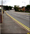 ST3090 : No parking on Malpas Road, Newport by Jaggery
