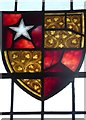 TL7835 : St Nicholas, Castle Hedingham: stained glass window (b) by Basher Eyre