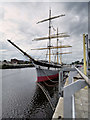 """NS5565 : SV Glenlee - """"the Tall Ship at Glasgow Harbour"""" by David Dixon"""
