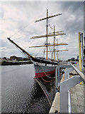 "NS5565 : SV Glenlee - ""the Tall Ship at Glasgow Harbour"" by David Dixon"