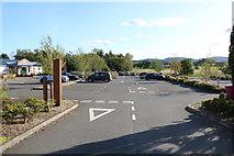 NX9575 : Garden Wise Car Park, Dumfries by Billy McCrorie