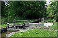 SJ9689 : Marple Locks No 4 east of Stockport by Roger  Kidd