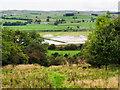 SD8161 : Flooded fields beside River Ribble by Trevor Littlewood
