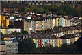 ST5871 : Coloured Houses in Bristol, England by Andrew Tryon