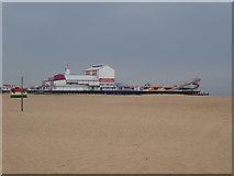 TG5307 : Britannia Pier, Great Yarmouth by Eirian Evans