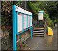ST1880 : Information boards, Health Halt Road, Cardiff by Jaggery