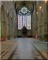 SO8454 : Worcester Cathedral West Nave by David Dixon