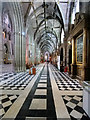 SO8454 : Worcester Cathedral (interior) by David Dixon
