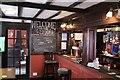 SK9856 : Inside the pub by Bob Harvey