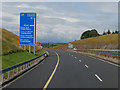 S0481 : Westbound M7 approaching Junction 23 by David Dixon