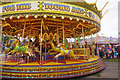 SK5641 : Roundabout - Goose Fair by Stephen McKay