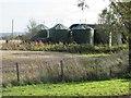 NO4342 : Silos at Gallowfauld by Scott Cormie