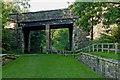 SJ9483 : Bridge over the Middlewood Way near Higher Poynton, Cheshire by Roger  Kidd