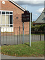 TL7818 : White Notley Village Hall sign by Adrian Cable