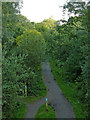 SJ9482 : The Middlewood Way south of Higher Poynton, Cheshire by Roger  Kidd