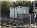 TL7818 : White Notley Level Crossing Equipment Room by Adrian Cable