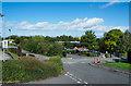 SJ2766 : Services area adjacent to A55 by Trevor Littlewood