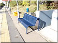 TL7818 : Seat at White Notley Railway Station by Adrian Cable