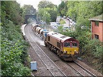 ST1882 : Rail-Head Treatment Train at Llanishen by Gareth James