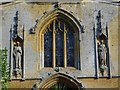 SP0327 : Statues on the west front of St Mary's Chapel by Philip Halling