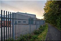 SJ8346 : Silverdale : Footpath by Lewis Clarke