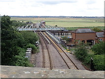 TG4201 : Reedham Swing Bridge by Eirian Evans