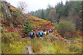 NN3007 : Glen Loin path to Inveruglas by Jim Barton