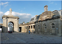 SX4653 : Former police building, Royal William Yard, Plymouth by Stephen Richards