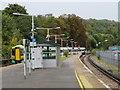 TQ3455 : Train leaving Caterham station by Malc McDonald