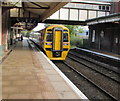 SJ3250 : Holyhead train in Wrexham General station by Jaggery