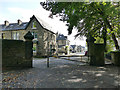 SE1038 : Entrance to Myrtle Park, Bingley from Beech Street by Stephen Craven