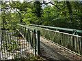 SE1038 : Bridge across the river below Myrtle Park, Bingley by Stephen Craven