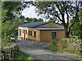 SE0936 : New timber-clad building at Norr Fold Farm by Stephen Craven
