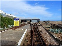 TQ3203 : Halfway Station, Volks Electric Railway, Brighton by Ruth Sharville