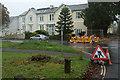 SX8670 : Roadworks, Forde Park, Newton Abbot by Derek Harper