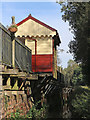 SK0048 : Station waiting shelter at Consall in Staffordshire by Roger  Kidd