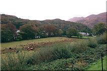 SH5848 : Field outside Beddgelert from the railway by Dylan Moore