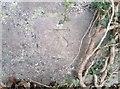 SD2274 : Ordnance Survey Cut Mark by Adrian Dust