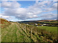 NS7927 : Course of old railway near Glespin by Alan O'Dowd