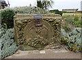 SD3348 : Lancashire & Yorkshire Railway stone by Gerald England
