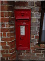 TL9332 : Wormingford Church Victorian Postbox by Adrian Cable