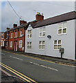 SJ2863 : Royal Mail drop box, Chester Road, Buckley by Jaggery