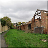 TL3852 : Harlton: abandoned farm buildings by Snakes Lane by John Sutton