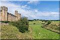 NU1813 : Moat, Alnwick Castle by Ian Capper