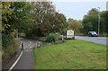 TL2271 : Cyclepath into Huntingdon by Hugh Venables