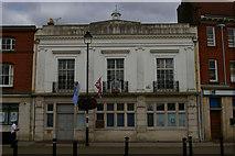 TM0458 : Former bank building, Ipswich Street, Stowmarket by Christopher Hilton