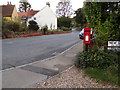 TL9033 : Bures Station Postbox by Adrian Cable
